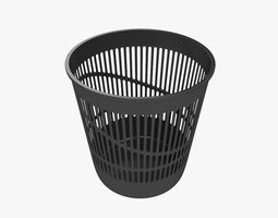 basket 3D model Trash bin