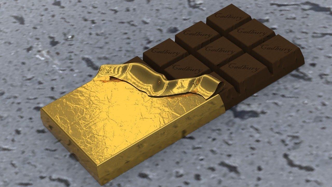 Cadbury Chocolate 3D model SLDPRT SLDASM SLDDRW IGE IGS IGES