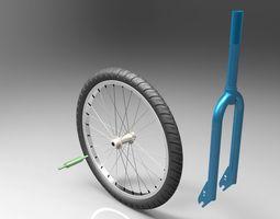 Bicycle Fork 3D model