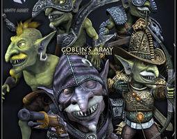 3D asset GOBLINS ARMY