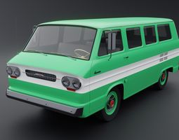 3D Chevrolet Corvair Greenbrier