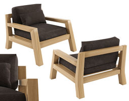 3D asset Harper Sofa Single Seater