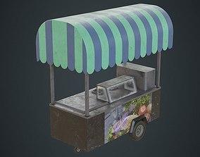 Food Cart 1B 3D model