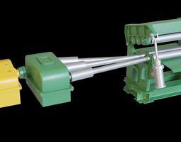 Metal sheet straightener 3D asset