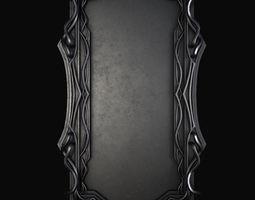 3D model Picture frame interior