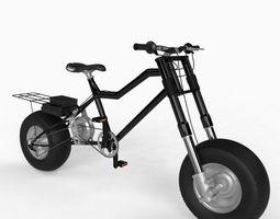 Electic Bike 3D Model