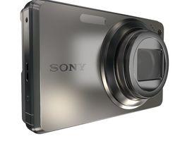 sony cyber-shot w290 3d model max obj 3ds fbx