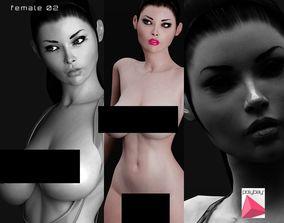 3D model Female 02