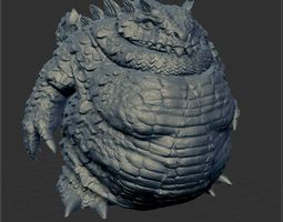 Dragon big 3D printable model