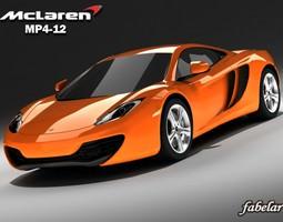 3D model McLaren MP4-12
