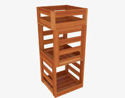 Wood Stand model