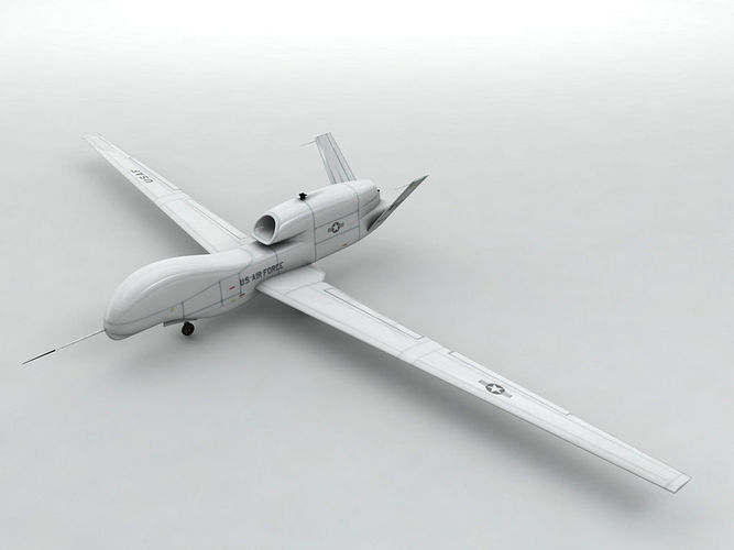 Global Hawk UAV Unmanned Aircraft