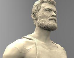 3D print model sculptures LOGAN
