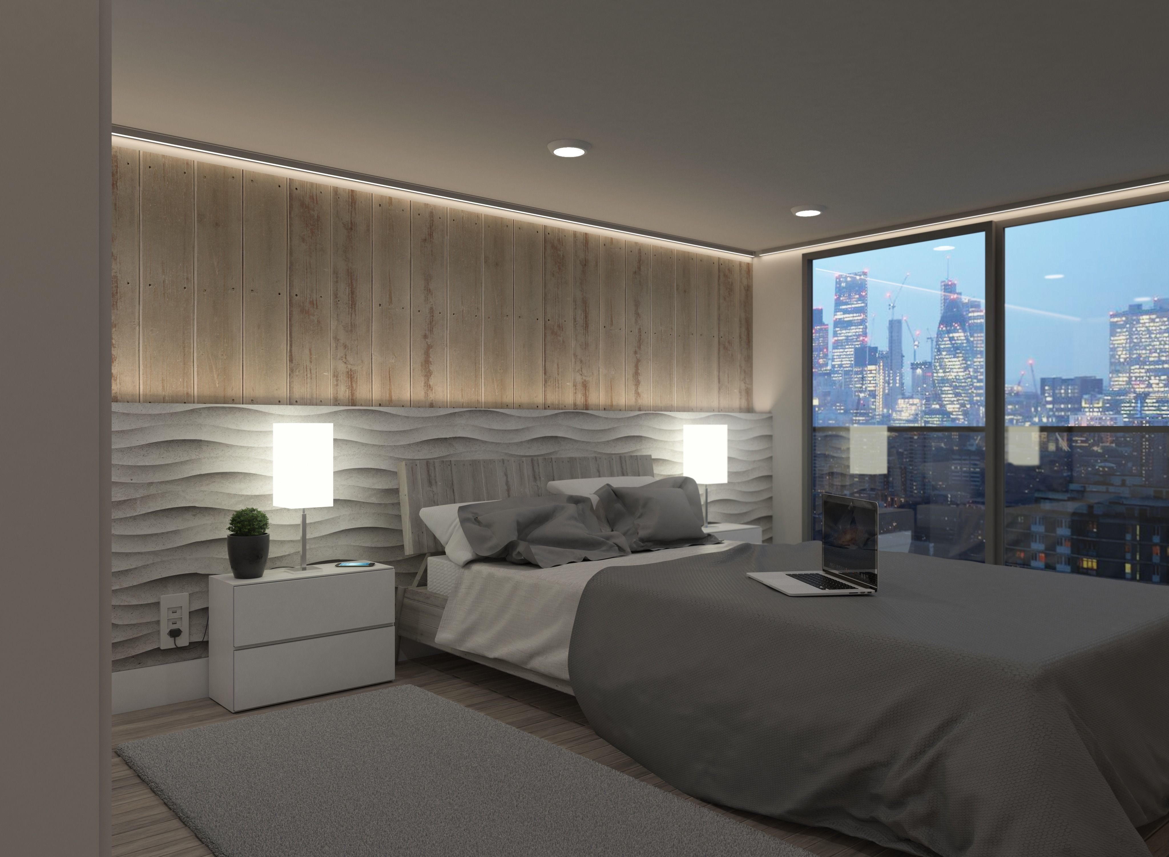 Hotel Room Vray Ready To Render 4k 3d Model Cgtrader
