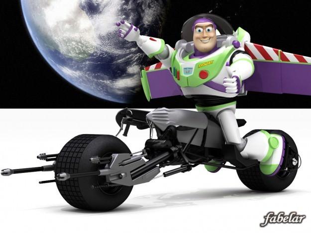 Buzz batpod edition3D model