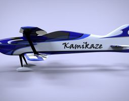 3D F3A biplane rc model