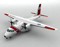 3D model EADS HC-144A Ocean Sentry Aircraft
