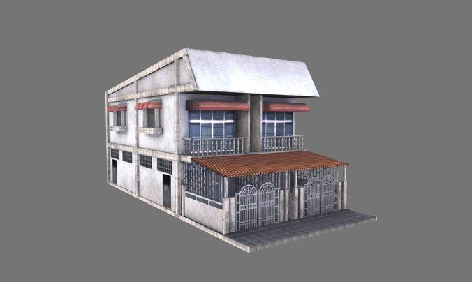 building 06 3d model max obj mtl fbx tga 1