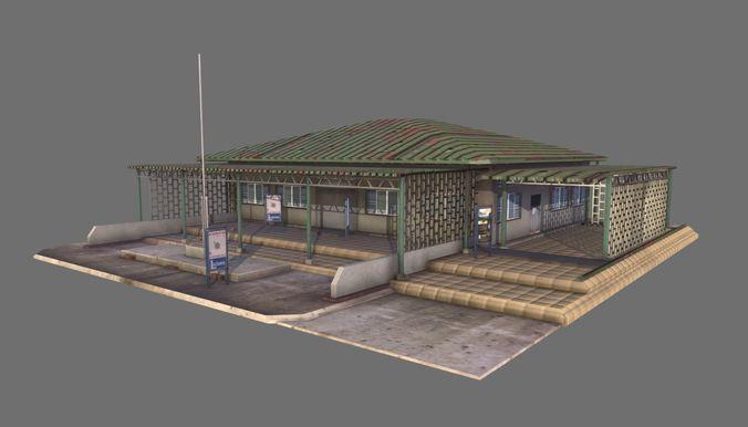 building 08 3d model max obj mtl fbx tga 1
