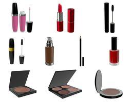 3D cosmetics stuff