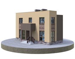 Residential house BP-5 3D