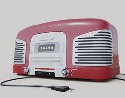 Radio Teac 3D model