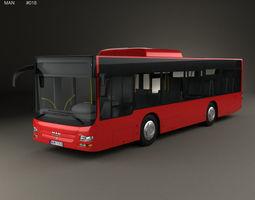 3D MAN Lions City M Bus 2006