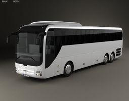 MAN Lions Coach C Bus 2007 3D model