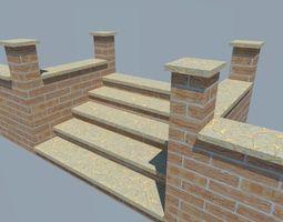 3d model brickstep VR / AR ready