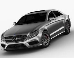 3D Mercedes Benz CLS 2015