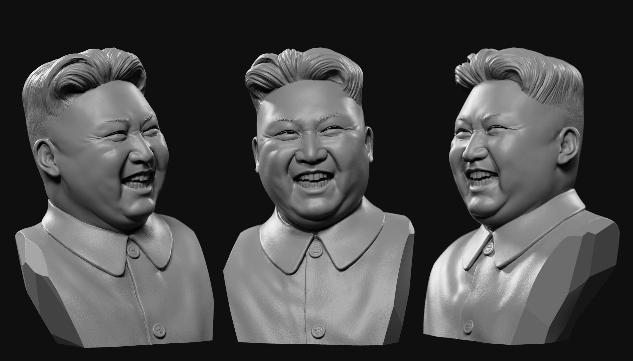Kim Jong-UN 2 laughs