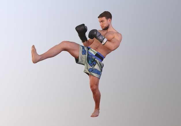 No96 - Kick Boxer