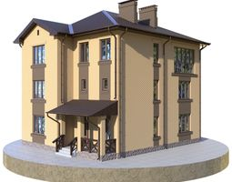 3D Residential house BP-10