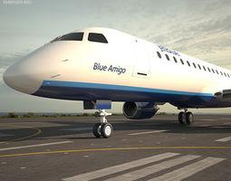 Embraer E190 3D