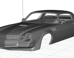 Chevrolet Camazo Z28 1979 Body Car Printable 3D