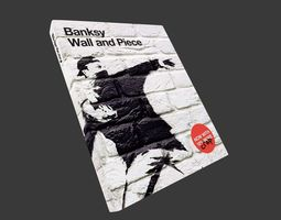 3D model Banksy Wall And Piece Book