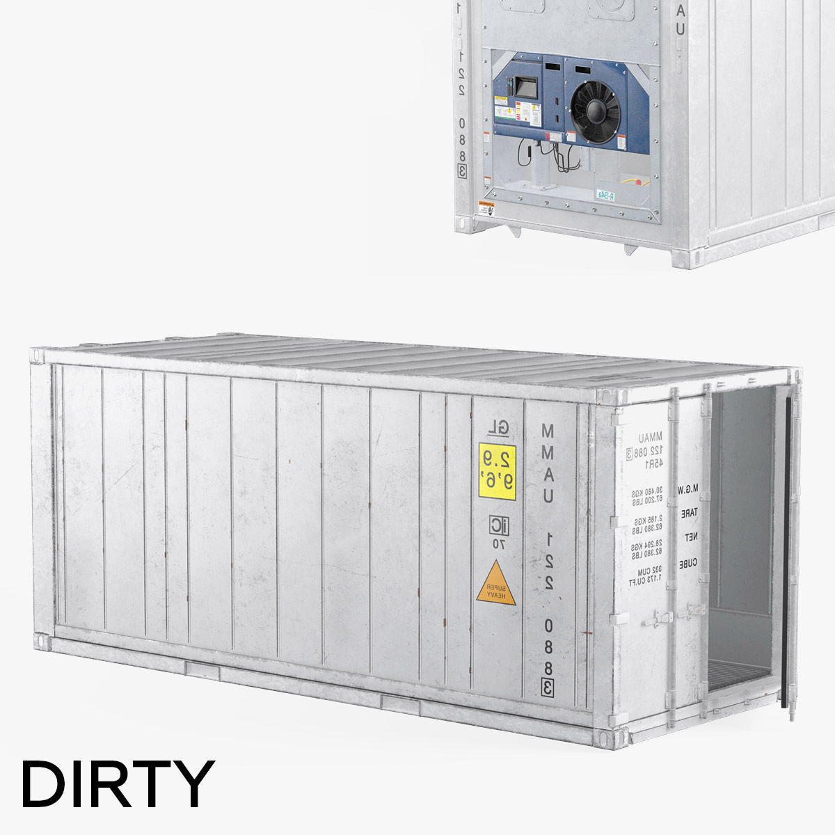 Refigerator Container Dirty