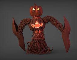 Pumpking Creature 3D printable model