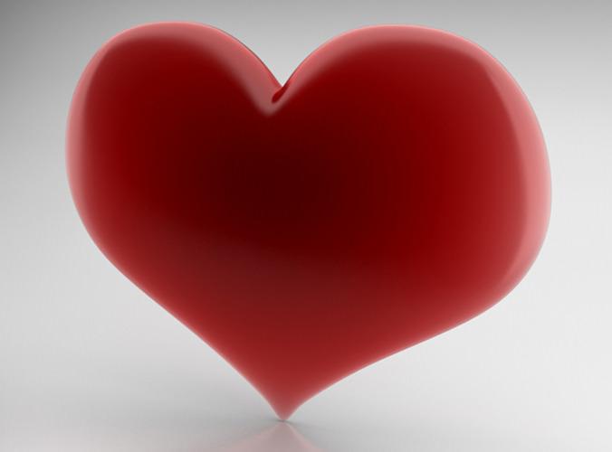 Heart Icon3D model