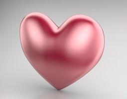 Heart Icon 2 3D Model