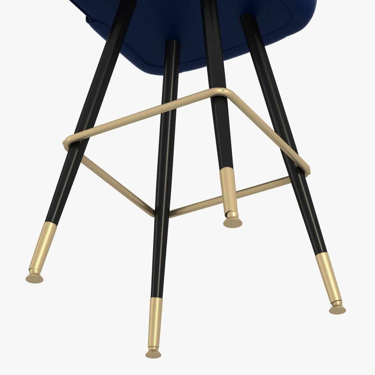 Richardson Seating Bar Stool 3d Model Max Obj 3ds Fbx