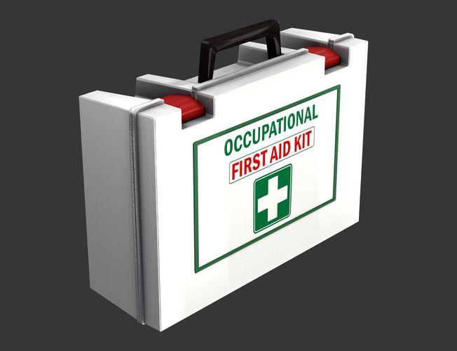 first aid kit 3d model max obj mtl 3ds fbx 1
