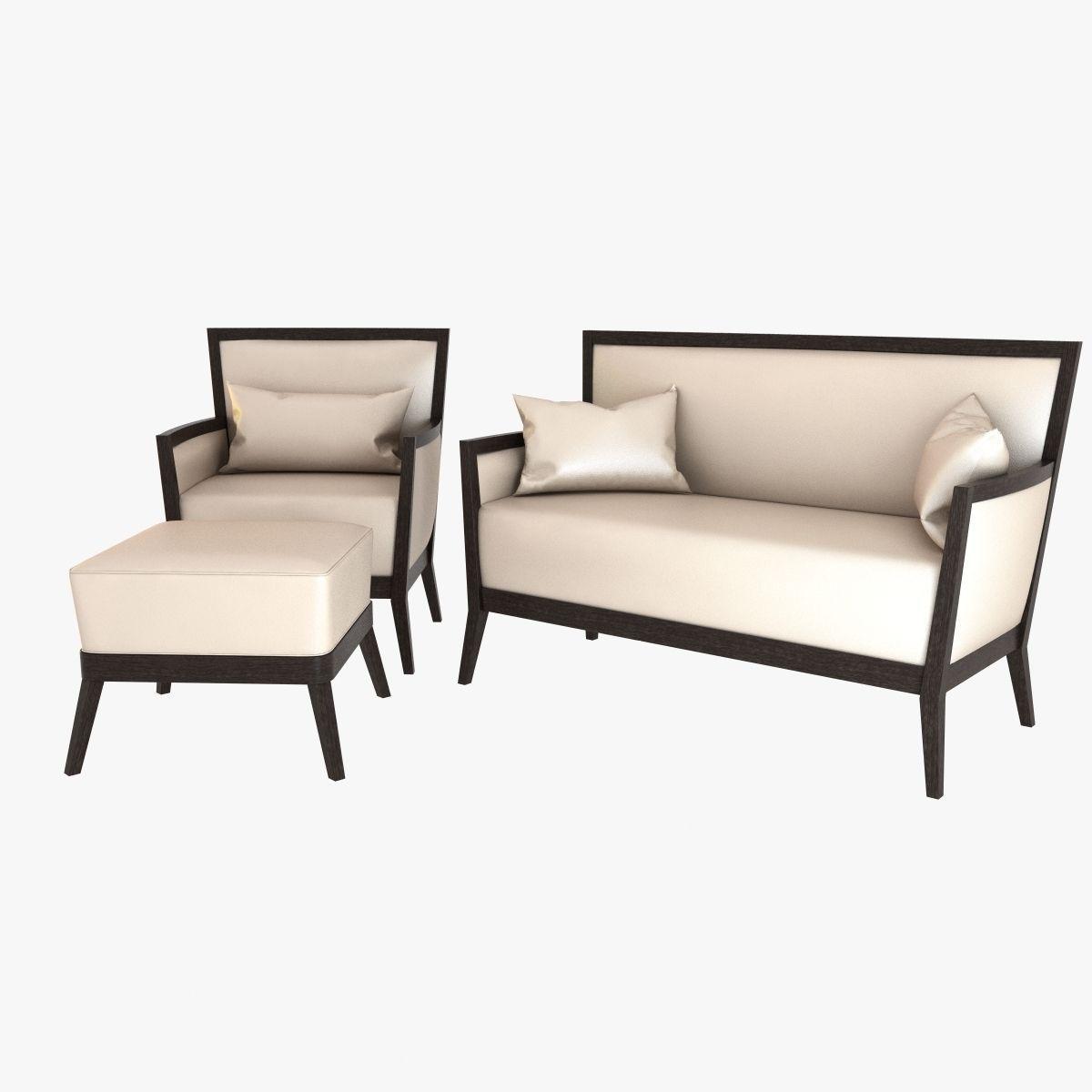 Veneta sedie armchair and sofa 3d model max obj 3ds fbx for Sedie design 3d