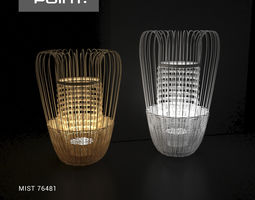 3D model Point Mist Lamp 20018