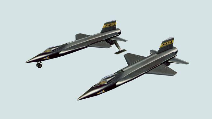 NASA North American X-15 Experimental Aircraft