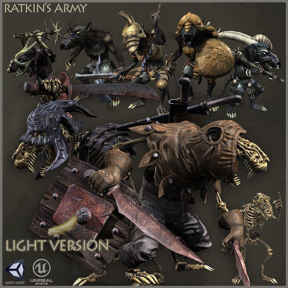 RATKINS ARMY LIGHT VERSION