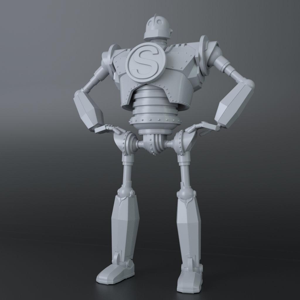 Iron Giant 3D Print Ready model v2