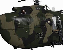 3D MBB BO-105M