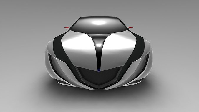 mazda concept 3d model stl 1
