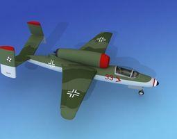 3D model Heinkel He 162 Volksjaeger V03